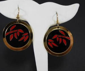black and red, etsy, and round image