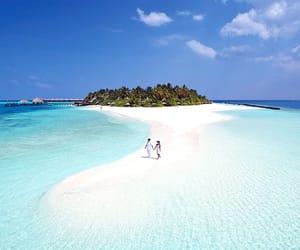 Island, Maldives, and resort image