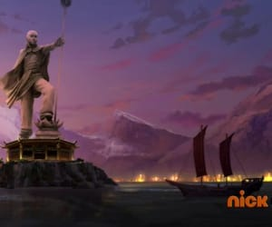aang, lok, and the legend of korra image