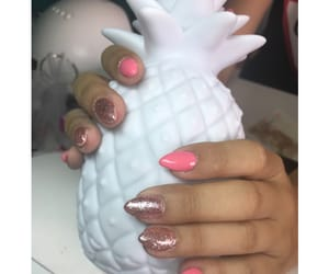 glitter, nails, and summernails image