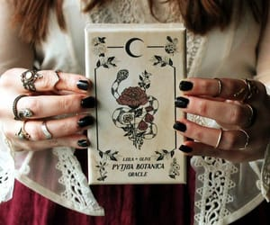 tarot, witch, and wicca image