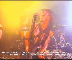 gif, Trent Reznor, and Nine Inch Nails image