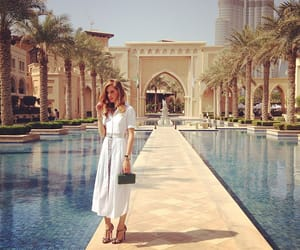 girl, luxury, and Dubai image