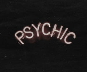 account, header, and psychic image