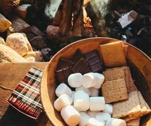 autumn, fall, and marshmallows image