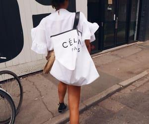 fashion, street style, and céline image