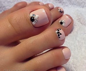 foot, inspiration, and nails image