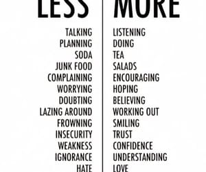 more, less, and quotes image