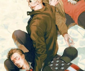 bucky, stony, and civil war image