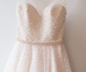 dress, wedding, and look image