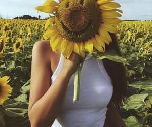 garden, smile, and tumblr image