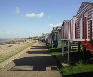 kent, places, and beach huts image