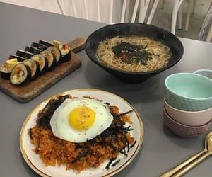 korean food, food, and korea image