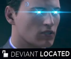 Connor, deviant, and meme image