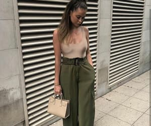 outfit, bag, and chic image