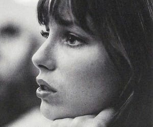 jane birkin, black and white, and photography image