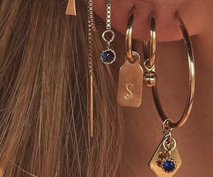 blue, fashion, and jewelry image