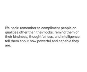 compliment, kindness, and life hack image