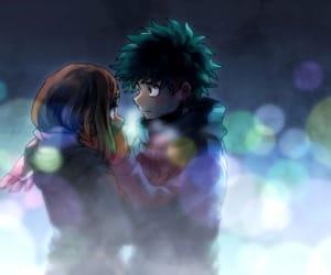 anime, couple, and goal image