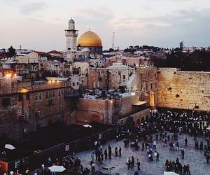Jerusalem, palestine, and gold dome image