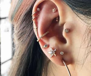 piercing, accessories, and fashion image