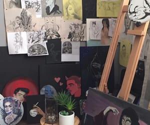 art, artist, and studio image