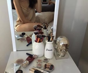 clothes, makeup, and pale image