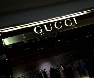 gucci, aesthetic, and black image