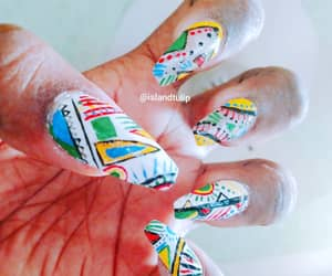 manicure, nails, and nailswag image