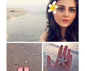 beach, feet, and starfish image