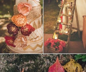 autumn, brown, and candles image