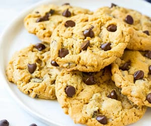 chewy, chocolate, and chocolate chip image