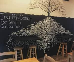 arbol, dibujo, and frases image