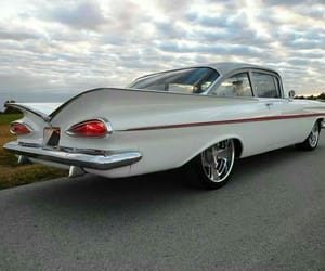 1959, classic cars, and chevy image