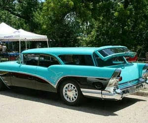 1957, classic cars, and classic fins image