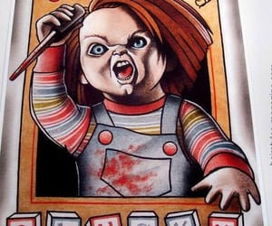 Chucky, horror, and doll image