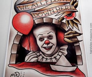 balloon, it, and pennywise image