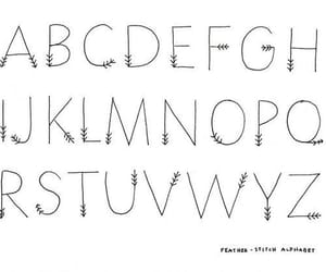 ABC, letras, and art image
