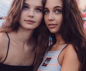 beach, beauty, and girls image
