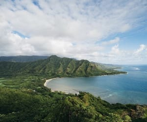 hawaii, landscape, and nature image