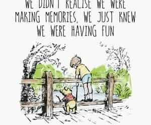 quotes, memories, and winnie the pooh image