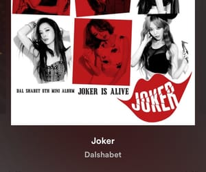 joker, korean girls, and music image