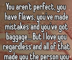 mistakes, flaws, and love you image