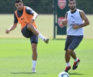 Arsenal, granit xhaka, and mkhitaryan image