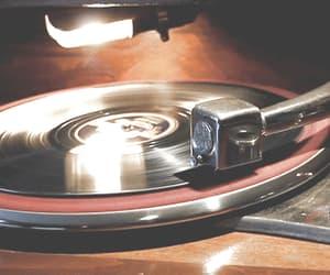 gif, music, and vintage image