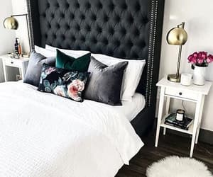 black, decor, and decoration image