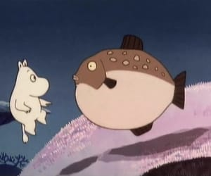 sea and moomin image