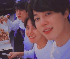 bts, jin, and jimin image