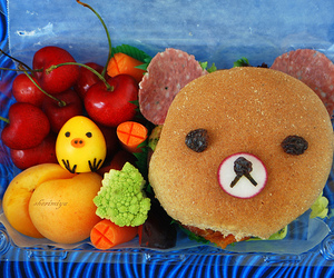 bear, food, and cute image