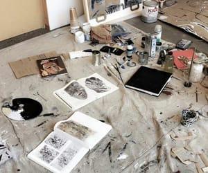 art, art school, and school image